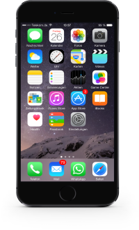 iPhone 6 Schwarz